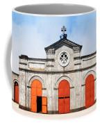 Church And Bicycle Coffee Mug