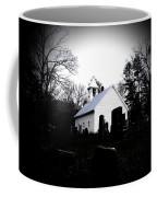 Church And Cemetary- Lens Coffee Mug