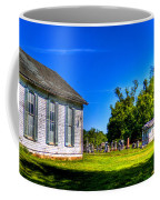 Church And Graveyard Coffee Mug