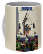 Church Entrance Cross Coffee Mug