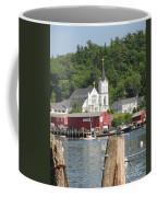 Church In Boothbay Coffee Mug