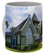 Church In Hanalei Kauai  Coffee Mug