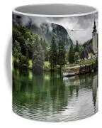 Church In Julian Alps Slovenia Coffee Mug
