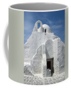 Church In Mykonos Coffee Mug