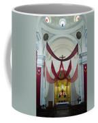 Church Interior 2 Guatemala  Coffee Mug