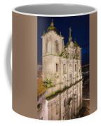Church Of Saint Lawrence By Night In Porto Coffee Mug
