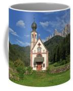 Church Of St. Johann In Ranui Coffee Mug by Yair Karelic