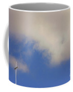 Church Steeple With Cross  Coffee Mug