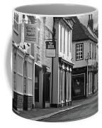 Church Street Sawbridgeworth In Black And White Coffee Mug