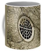 Church Window And Shadows 2 Coffee Mug