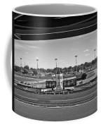 Churchill Downs' Winner's Circle In Black And White Coffee Mug