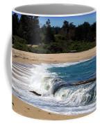 Churning Surf At Monastery Beach Coffee Mug