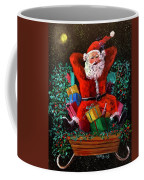 Cigar Santa Coffee Mug