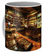 Cigar Shop Coffee Mug by Yhun Suarez