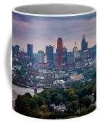 Cincinnati Skyline Coffee Mug