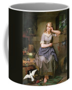 Cinderella And The Birds Coffee Mug