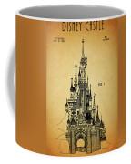Cinderella Castle Patent Coffee Mug