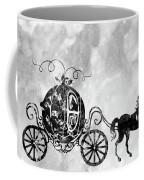 Cinderella's Carriage-black Coffee Mug