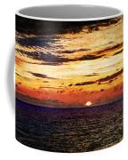Cinque Terre - Sunset From Manarola - Panorama - Vintage Version Coffee Mug