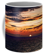 Cinque Terre - Sunset From Manarola - Panorama Coffee Mug