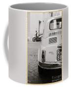 Cinquecento Black And White Coffee Mug