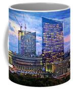 Cira Centre Skyline At Dusk Coffee Mug