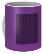Circle And Oval Ikat In Black N30-p0100 Coffee Mug