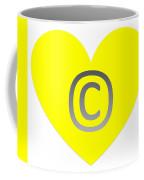 Circle C Yellow Coffee Mug