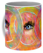Circle Of Eyes Coffee Mug