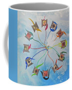 Circle Of Hearts Coffee Mug