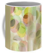 Circle Pattern Overlay II Coffee Mug