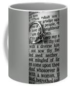 Circled Is The Word Love Coffee Mug