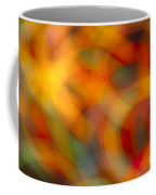 Circular Flow Christmas Abstract Coffee Mug