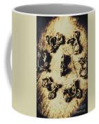 Circular Parade Of Scooter Coffee Mug