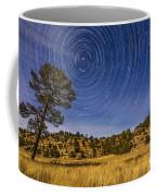 Circumpolar Star Trails Over Mimbres Coffee Mug
