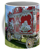 Circus Car In Red And Silver Coffee Mug
