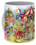 Circus In Town Coffee Mug