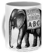 Circus: Jumbo, C1882 Coffee Mug