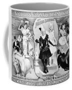 Circus Poster, 1895 Coffee Mug