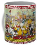 Circus Poster, 1903 Coffee Mug