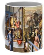 Circus Poster, C1891 Coffee Mug