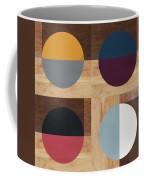 Cirkel Quad- Art By Linda Woods Coffee Mug by Linda Woods