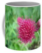 Cirsium Burgandy Thistle Coffee Mug