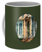 Cities - Albany Ny Brownstone Coffee Mug