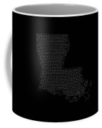 Cities And Towns In Louisiana White Coffee Mug