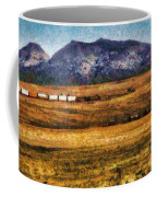 City - Arizona - Southwestern Cargo Train Coffee Mug