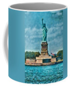 City - Ny - The Statue Of Liberty Coffee Mug