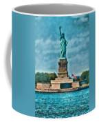City - Ny - The Statue Of Liberty Coffee Mug