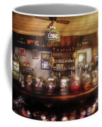 City - Ny 77 Water Street - The Candy Store Coffee Mug by Mike Savad