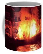 City - Vegas - Treasure Island - Explosion Abandon Ship Coffee Mug